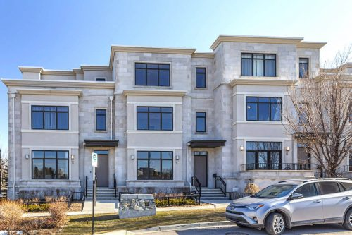 Luxury Town Homes in Valour Park Currie Calgary