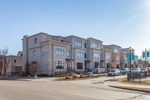 Luxury townhomes built by Empire Custom Homes in Calgary for sale by Plintz Real Estate
