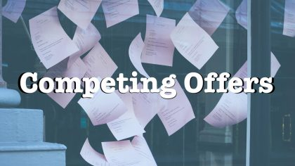 Competing offers while buying a home blog