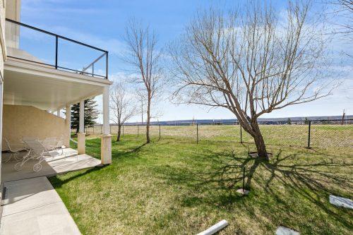 Walkout bungalow villa in SW Calgary
