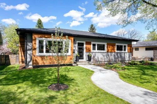 18 Mayfair Rd SW Calgary Mid century style bungalow for sale