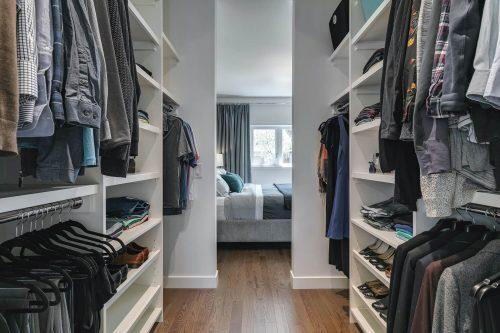 walk through closet to master bedroom at 18 Mayfair Road SW