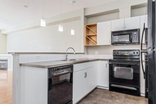Marda Loop Calgary Condo kitchen