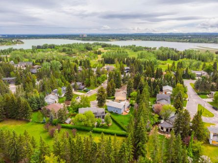 North Glenmore Park and Reservoir in Calgary Alberta Lakeview Village Home for Sale by Calgary Realtor Dennis Plintz