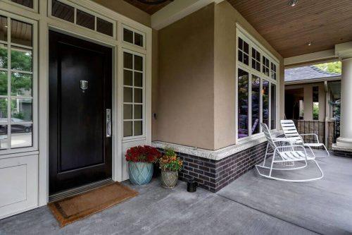 Front veranda at 3023 7 St SW