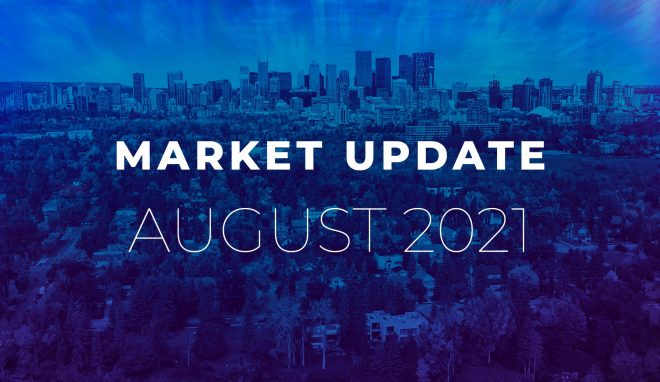 August 2021 Real Estate Market Update